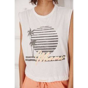 Free People Movement Bring The Heat Graphic Tee